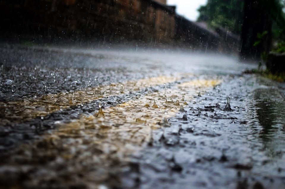 Allerta Meteo Gialla per criticità idrogeologica dalle ore 18.00 del 4 Aprile alle ore 12.00 del 5 Aprile